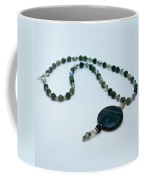 3577 Kambaba And Green Lace Jasper Necklace Coffee Mug