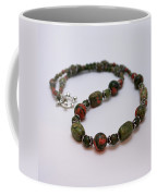 3579 Unakite Necklace  Coffee Mug