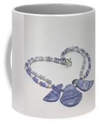 3588 Blue Banded Agate Necklace Coffee Mug