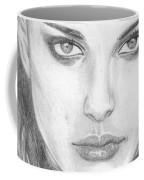 Natalie In Black Coffee Mug