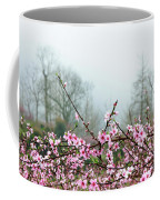 Blossoming Peach Flowers In Spring Coffee Mug