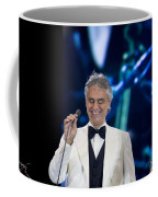 Andrea Bocelli In Concert Coffee Mug