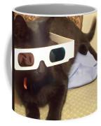 3d Cat Coffee Mug