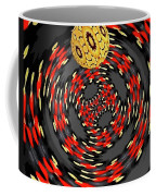 3d-concentric Planet  Coffee Mug