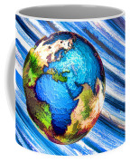 3d Render Of Planet Earth 10 Coffee Mug