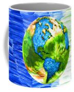 3d Render Of Planet Earth 11 Coffee Mug