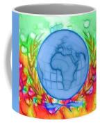 3d Render Of Planet Earth 17 Coffee Mug