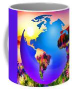 3d Render Of Planet Earth 18 Coffee Mug