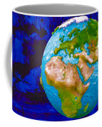 3d Render Of Planet Earth 6 Coffee Mug