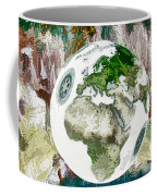 3d Render Of Planet Earth 7 Coffee Mug