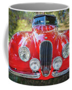 1954 Jaguar Xk 120 Se Ots  Coffee Mug