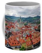 A View Of Cesky Krumlov In The Czech Republic Coffee Mug