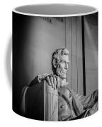 Abraham Lincoln Memorial In Washington Dc Usa Coffee Mug