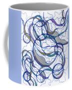 Abstract Pencil Pattern Coffee Mug