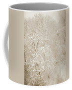 Abstract Scenes At Ski Resort During Snow Storm Coffee Mug
