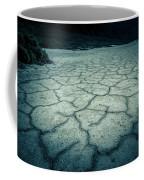 Badwater Basin Death Valley Salt Formations Coffee Mug