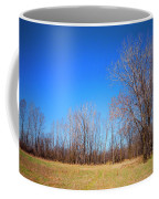 Bare Tree Branches In Early Spring Coffee Mug