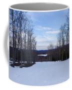 Beautiful Winter Landscape At Timberline West Virginia Coffee Mug