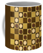 Checkerboard Generated Seamless Texture Coffee Mug