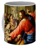 Christ Cleansing The Temple Coffee Mug