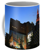 Terminal Tower And Sherwin Williams Building In Cleveland, Ohio, Usa Coffee Mug