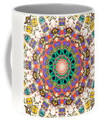 Colorful Concentric Abstract Coffee Mug