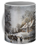Currier & Ives: Winter Scene Coffee Mug