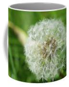 Dandelion Close-up. Coffee Mug