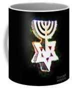 David's Menorah Jerusalem Coffee Mug