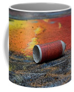 Discarded Spray Paint Can Coffee Mug