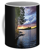Dramatic Sunset At Lake Coffee Mug