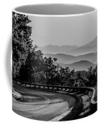 Early Morning Sunrise Over Blue Ridge Mountains Coffee Mug