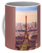 Eiffel Tower At Sunrise - Paris Coffee Mug