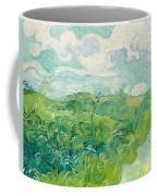 Green Wheat Fields, Auvers Coffee Mug