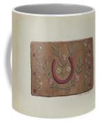 Hooked Rug Coffee Mug