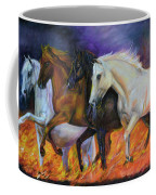 4 Horses Of The Apocalypse Coffee Mug