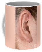 Human Ear Coffee Mug