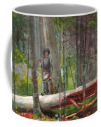 Hunter In The Adirondacks Coffee Mug