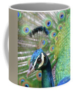 Indian Blue Peacock Coffee Mug