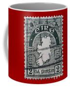 Irish Postage Stamp Coffee Mug
