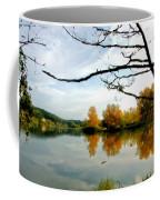 Landscape Oil Painting On Canvas Coffee Mug