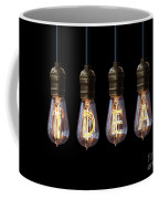 Light Bulb Background Coffee Mug
