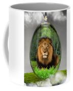 Lion Art Coffee Mug