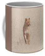 lioness Masai Mara, Kenya Coffee Mug