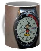 Mickey Mouse Watch Coffee Mug