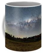 Milky Way Over A Farm Shed Coffee Mug