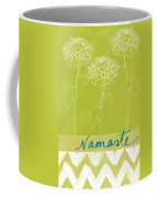 Namaste Coffee Mug by Linda Woods
