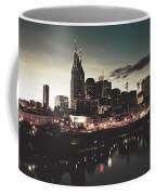 Nashville At Dusk Coffee Mug