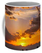 Nebraska Hp Supercell Sunset Coffee Mug