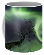 Northern Lights In The Arctic Coffee Mug by Arild Heitmann